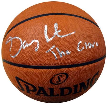 Gary Payton Signed Basketball