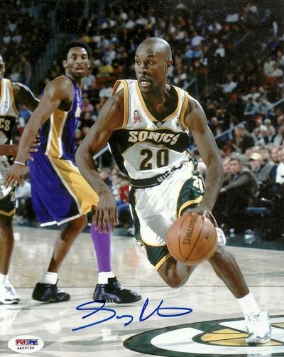 Gary Payton Rookie Cards and Autographed Memorabilia Guide 28