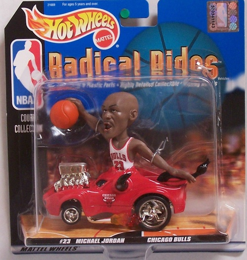 Hot Wheels Michael Jordan Figures