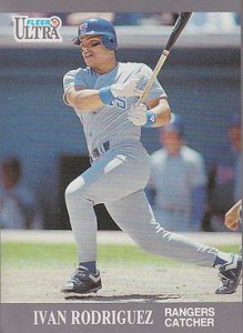 Ivan Rodriguez 1991 Ultra Update RC