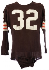 Jim Brown 1960's Game Worn Jersey 1