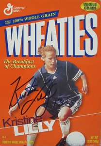 Kristine Lilly Wheaties Box