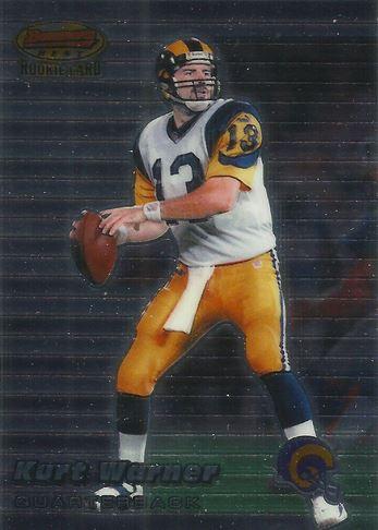 Kurt Warner Cards, Rookie Cards, Autographed Memorabilia ...