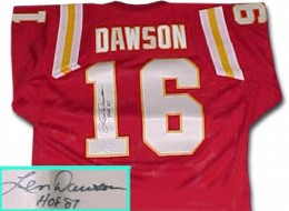 Len Dawson Cards, Rookie Card and Autographed Memorabilia Guide 25