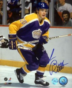 Luc Robitaille Signed Photo