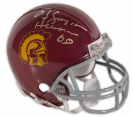 OJ Simpson Signed Helmet