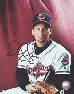 Omar Vizquel Signed Photo