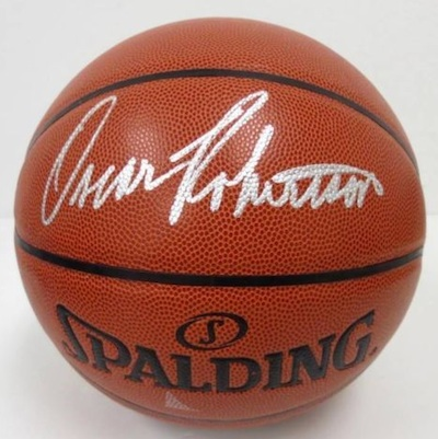 Oscar Robertson Signed Basketball