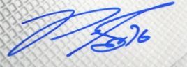 PK Subban Signature Example