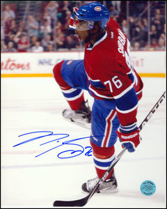 PK Subban Signed Photo