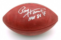 Paul Hornung Signed Football