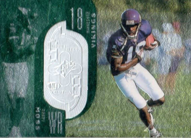 Randy Moss SPx Finite RC