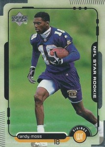 Randy Moss Upper Deck RC