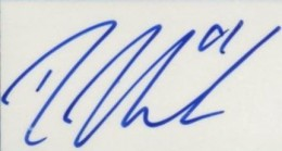Rick Nash Signature Example