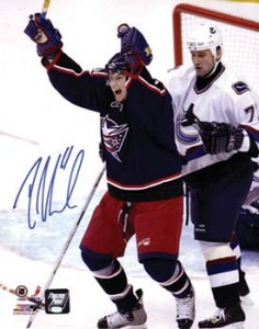 Rick Nash Signed Photo