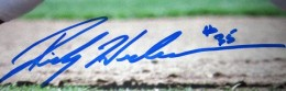 Rickey Henderson Signature Example