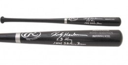 Rickey Henderson Signed Bat