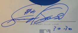 Sammy Sosa Signature Example