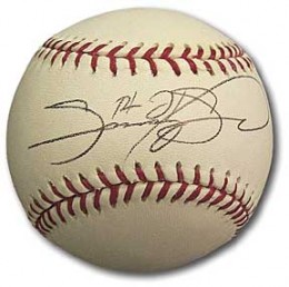 Sammy Sosa Signed Baseball