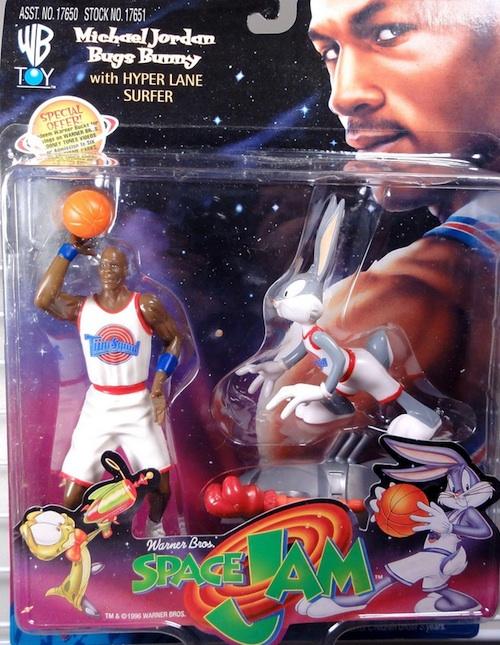 Space Jam Michael Jordan Figures Bugs Bunny