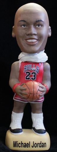 Sports, Accessories & Memorabilia (SAM) Michael Jordan Bobbleheads Red