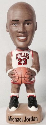 Sports, Accessories & Memorabilia (SAM) Michael Jordan Bobbleheads White