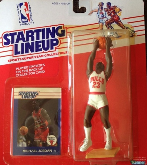 Starting Lineup SLU Michael Jordan Figures