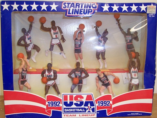 Starting Lineup (SLU) Michael Jordan Figures 1992 Dream Team