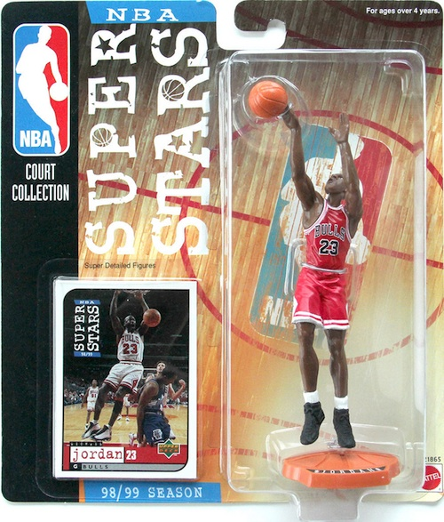 Superstars of the NBA Michael Jordan Figures