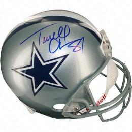 Terrell owens Signed Helmet
