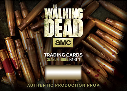2014 Cryptozoic Walking Dead Season 3 Part 1 Prop Card