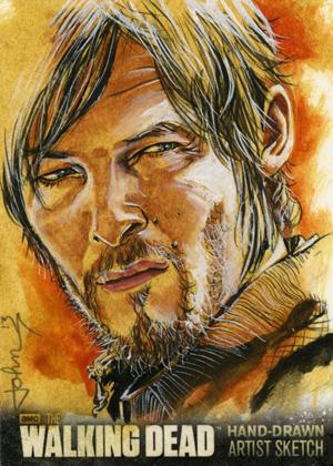 2014 Cryptozoic Walking Dead Season 3 Part 1 Trading Cards 27