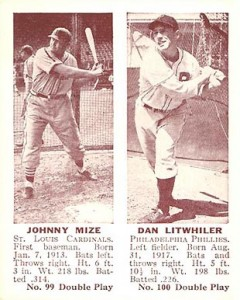 Johnny Mize Cards, Rookie Card and Autographed Memorabilia Guide 3