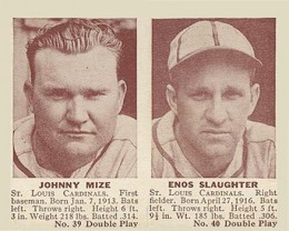 Johnny Mize Cards, Rookie Card and Autographed Memorabilia Guide 2