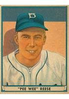 Pee Wee Reese Cards, Rookie Card and Autographed Memorabilia Guide