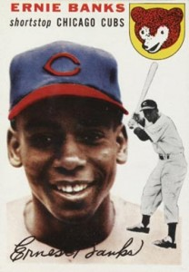 Ernie Banks Cards, Rookie Card and Autographed Memorabilia Guide 1