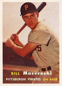 Top 10 Bill Mazeroski Baseball Cards 10