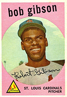 Bob Gibson Cards, Rookie Card and Autographed Memorabilia Guide