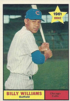 Billy Williams Cards, Rookie Card and Autographed Memorabilia Guide