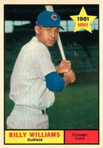 1961 Topps Billy Williams RC