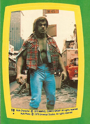 1979 Topps Incredible Hulk Trading Cards 24
