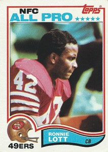 Ronnie Lott Cards, Rookie Card and Autographed Memorabilia Guide 1