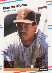 1988 Fleer Update Roberto Alomar