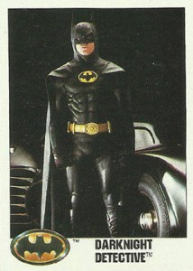 1989 Topps Batman Movie Trading Cards 1