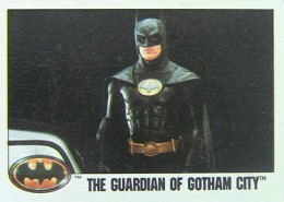 1989 Topps Batman Movie Trading Cards 21