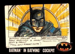 1989 Topps Batman Movie Trading Cards 25