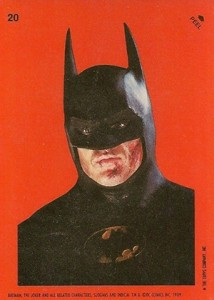 1989 Topps Batman Movie Trading Cards 23