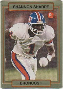1990 Action Packed Shannon Sharpe RC