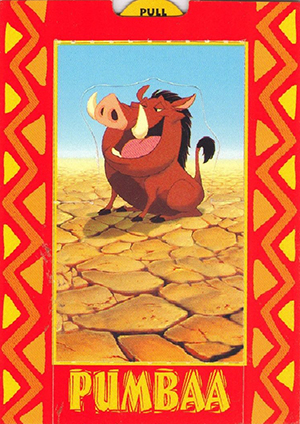 c7768c2ae3b 1994 SkyBox Lion King Trading Cards Checklist