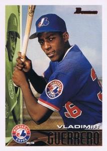 1995 Bowman Vladimir Guerrero RC